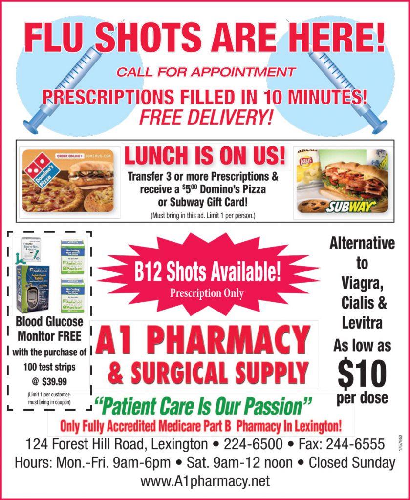 flu shot coupon ad